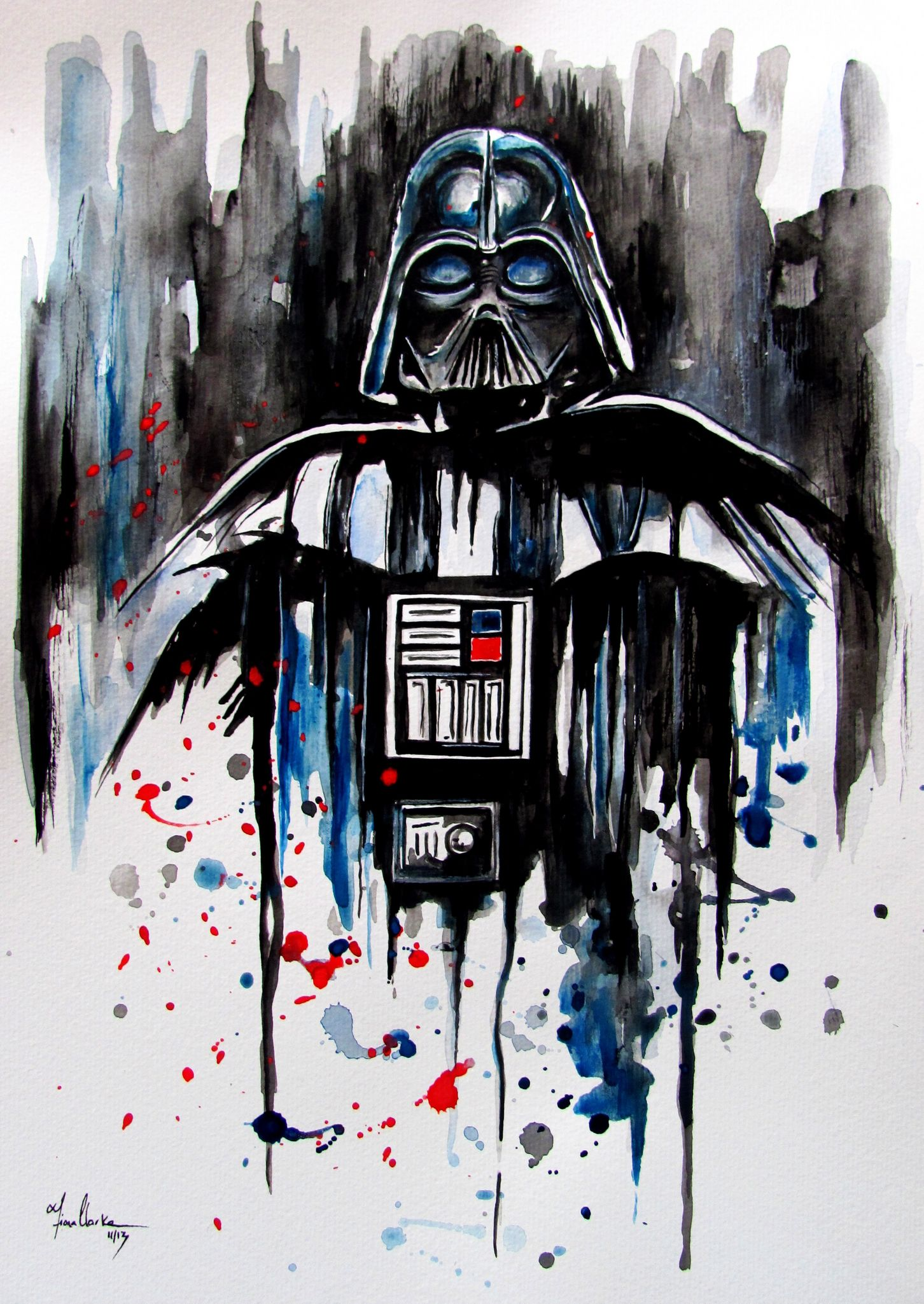darth vader painting - Google Search | Painting Ideas ...