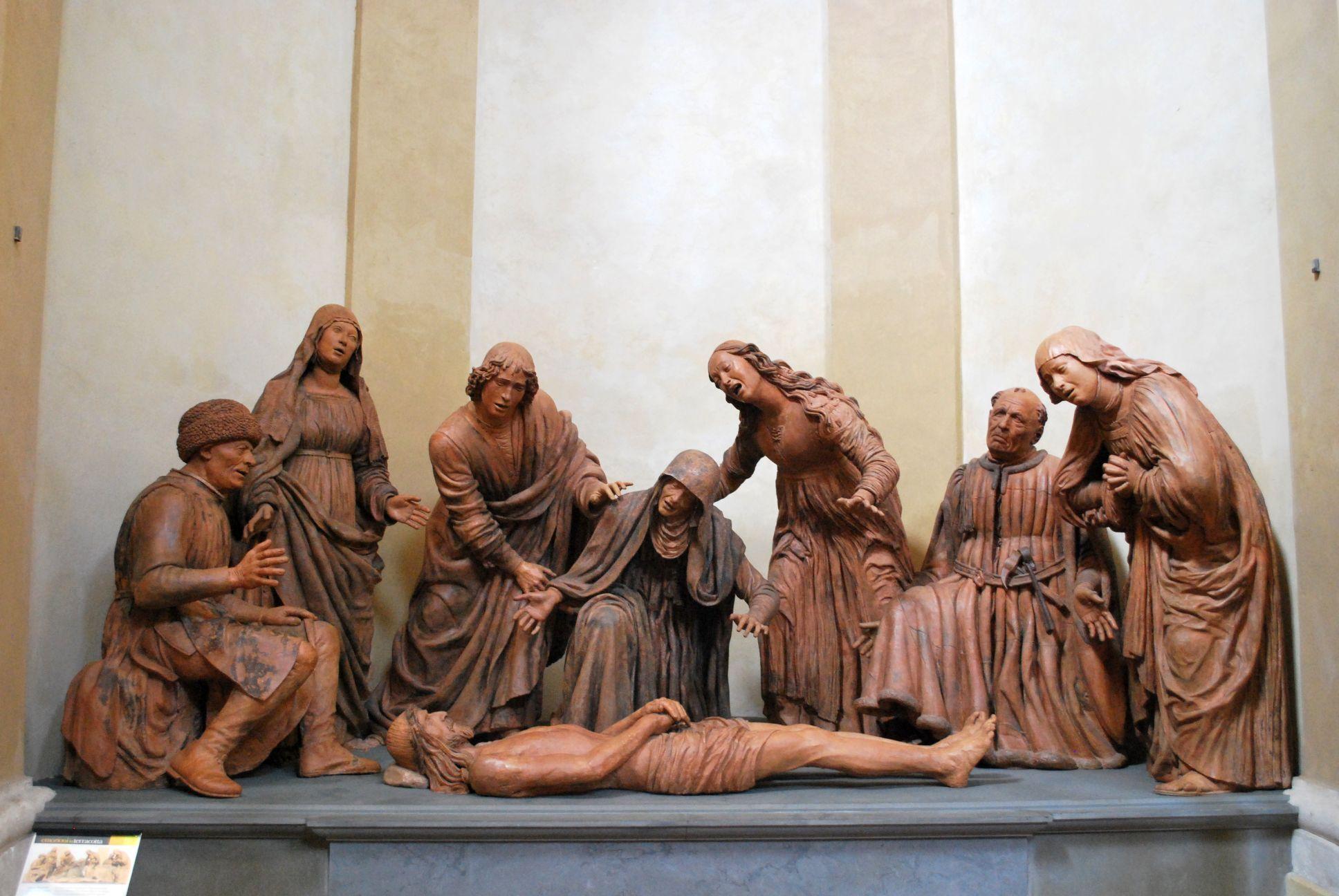 Guido Mazzoni, terracotta, ca. 1477-79, Modena, chiesa di ...
