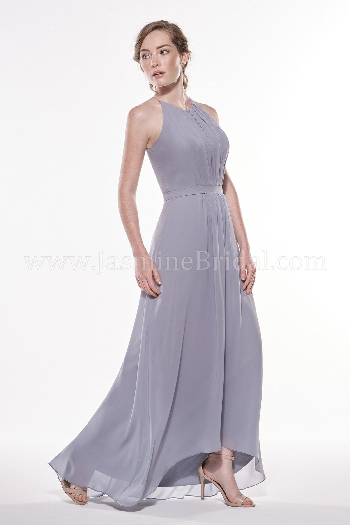 Jasmine bridal jasmine bridesmaids style p196003 in nickel dont miss out on your chance to get your very own jasmine bridesmaid gown our wedding attire can also double for special events ombrellifo Images