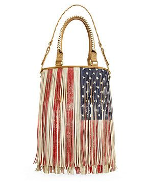 Redwhite And Blue Fringe Purse By Steve Madden 4th Of July