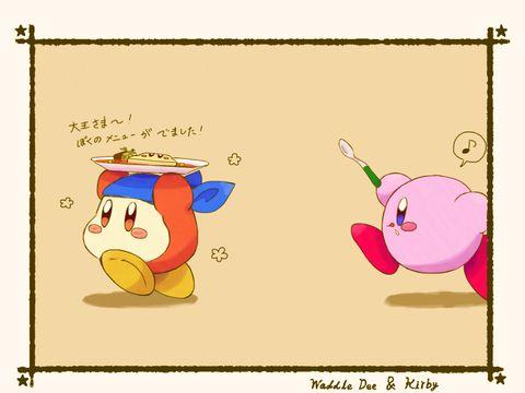 Kirby And Bandana Waddle Dee 3 Kirby Of The Stars Fictional