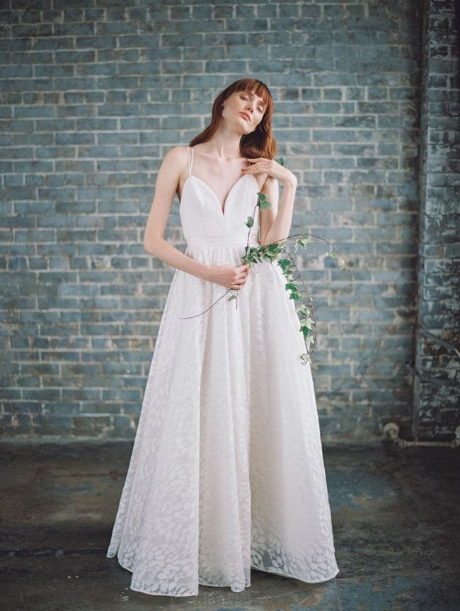 Hamilton gown from the Truvelle 2017 bridal collection http://www ...