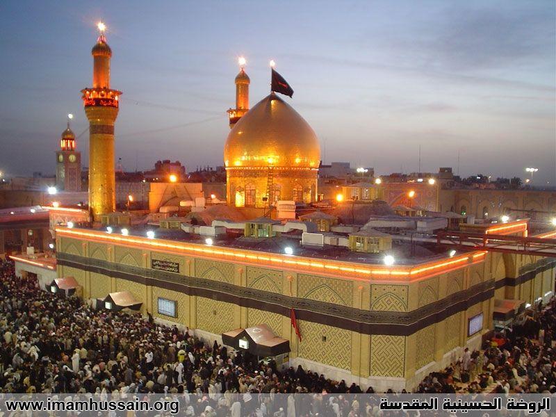 مرقد الامام الحسين عليه السلام Imam Hussain Karbala Photography Islamic Pictures