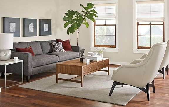 Harrison Sofa Room Living Room Board Oppfund Sj Office Front