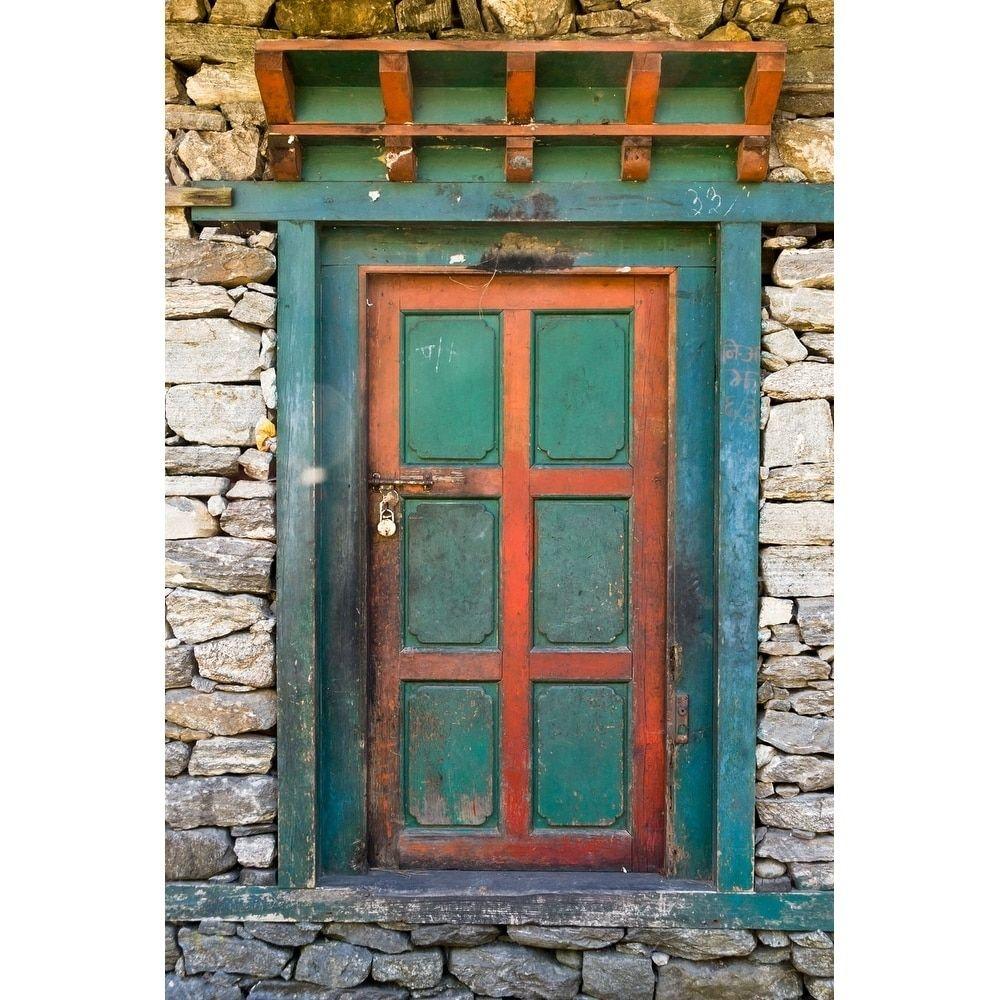 Bluegreen door