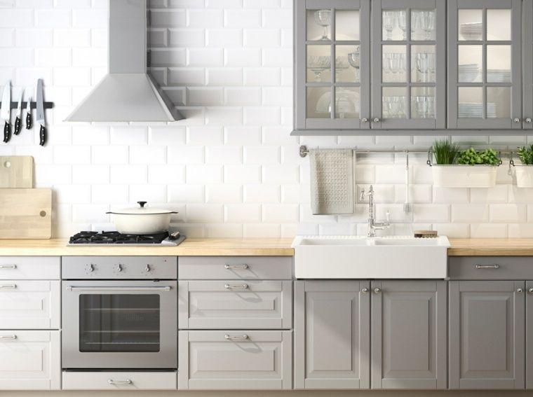 Plan De Travail Pour Cuisine Choisir La Bonne Couleur Amenagement Cuisine Meuble Cuisine Cuisine Ikea