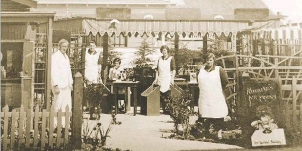 LOOKING BACK: A historic shot of Rush Munro's, which is celebrating 90 years in business.