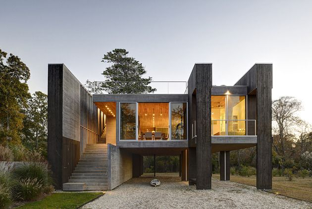 Beautiful Floodplain Residence Incorporates Unique and Practical Pilings , http://www.interiordesign-world.com/home-design/beautiful-floodplain-residence-incorporates-unique-and-practical-pilings/ Check more at http://www.interiordesign-world.com/home-design/beautiful-floodplain-residence-incorporates-unique-and-practical-pilings/
