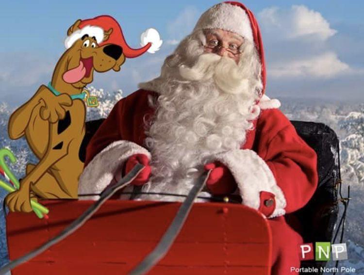 Santa Scooby Santa Claus Santa Claus Is Coming To Town Santa Photos