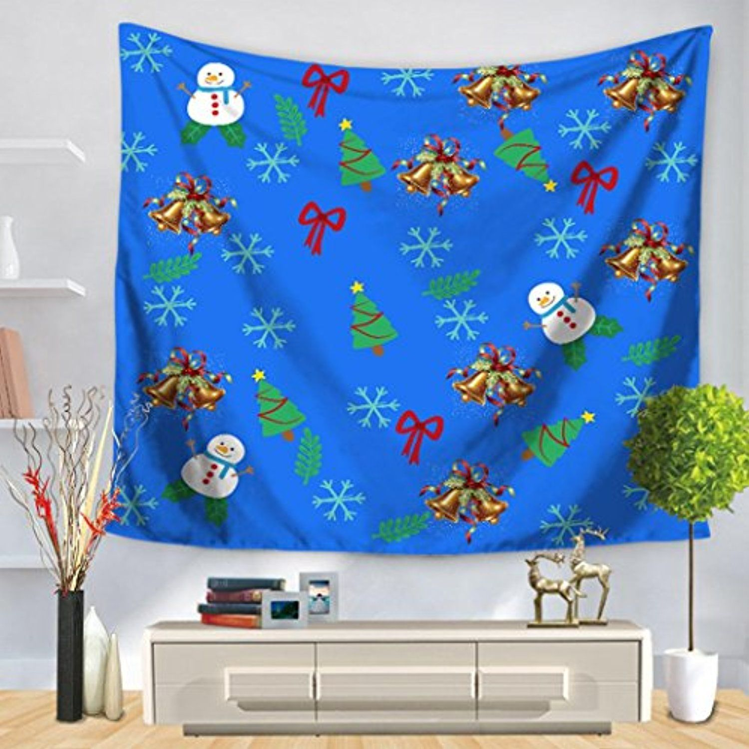 Blanket ,Usstore 1PC Christmas Party Tapestry Hanging Mats For ...