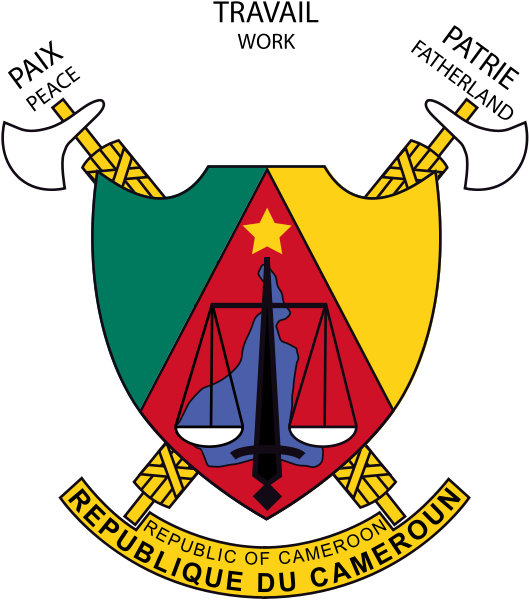 FileCoat of arms of Cameroon.svg Coat of arms, Cameroon