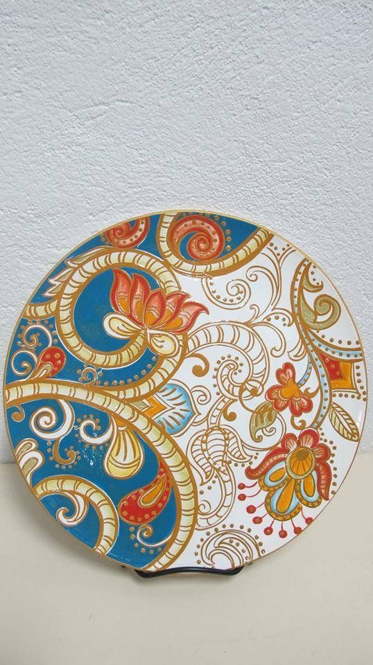 Decorative Plate Desenler Mozaik Seramik