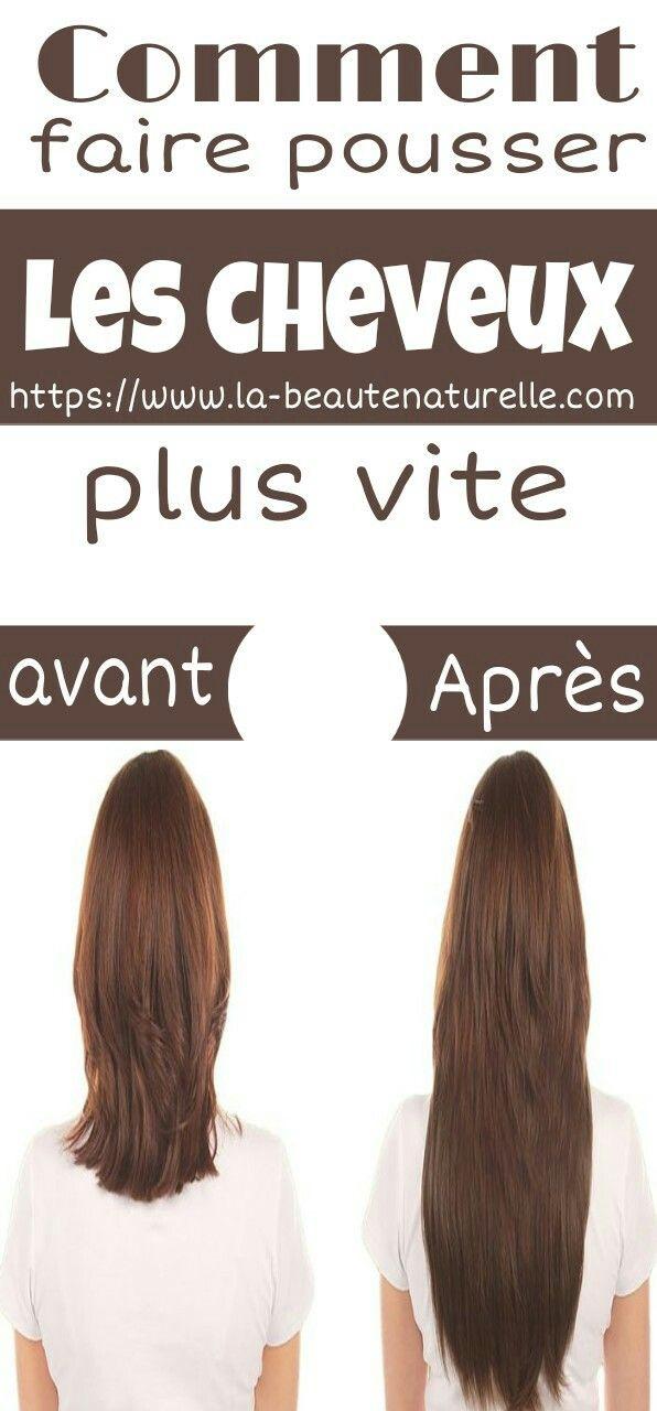 Masque Pour Faire Pousser Les Cheveux : masque, faire, pousser, cheveux, Astuces, Beauté, Naturelle