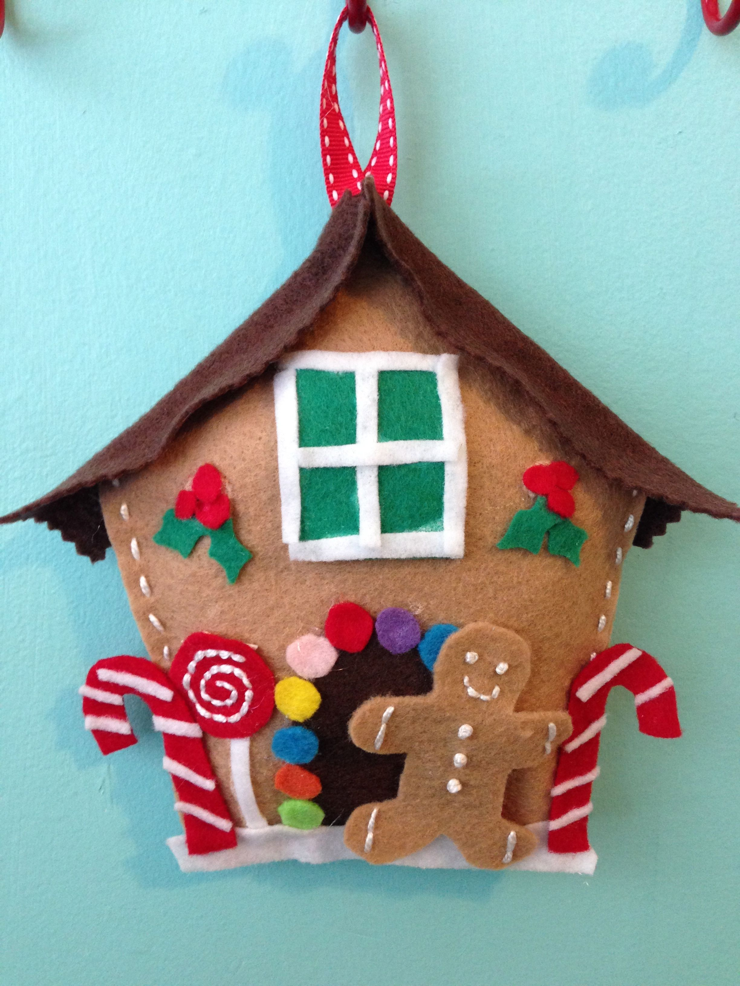 Hansel + Feltel Felt Gingerbread House Holiday Craft Workshop For