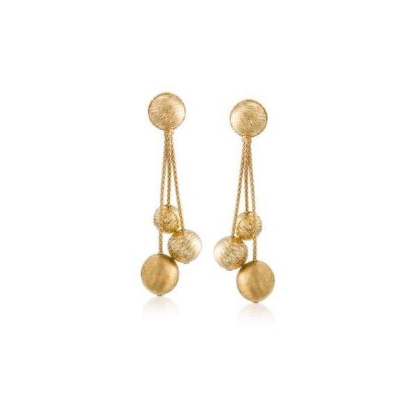 Simons Asymmetric pearl and tassel earrings gcaP4