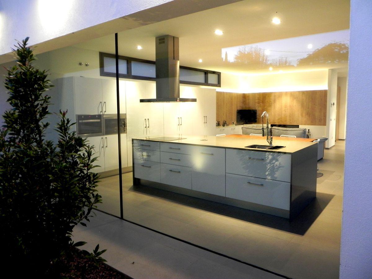 Comedor #Cocina #moderno #decoracion via @planreforma #sillas ...