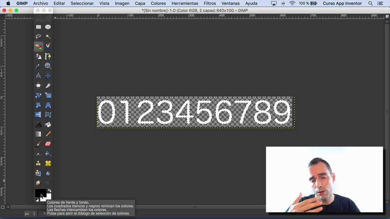 Marcador Grafico En App Inventor Crear Numeros Con Gimp Clase 2