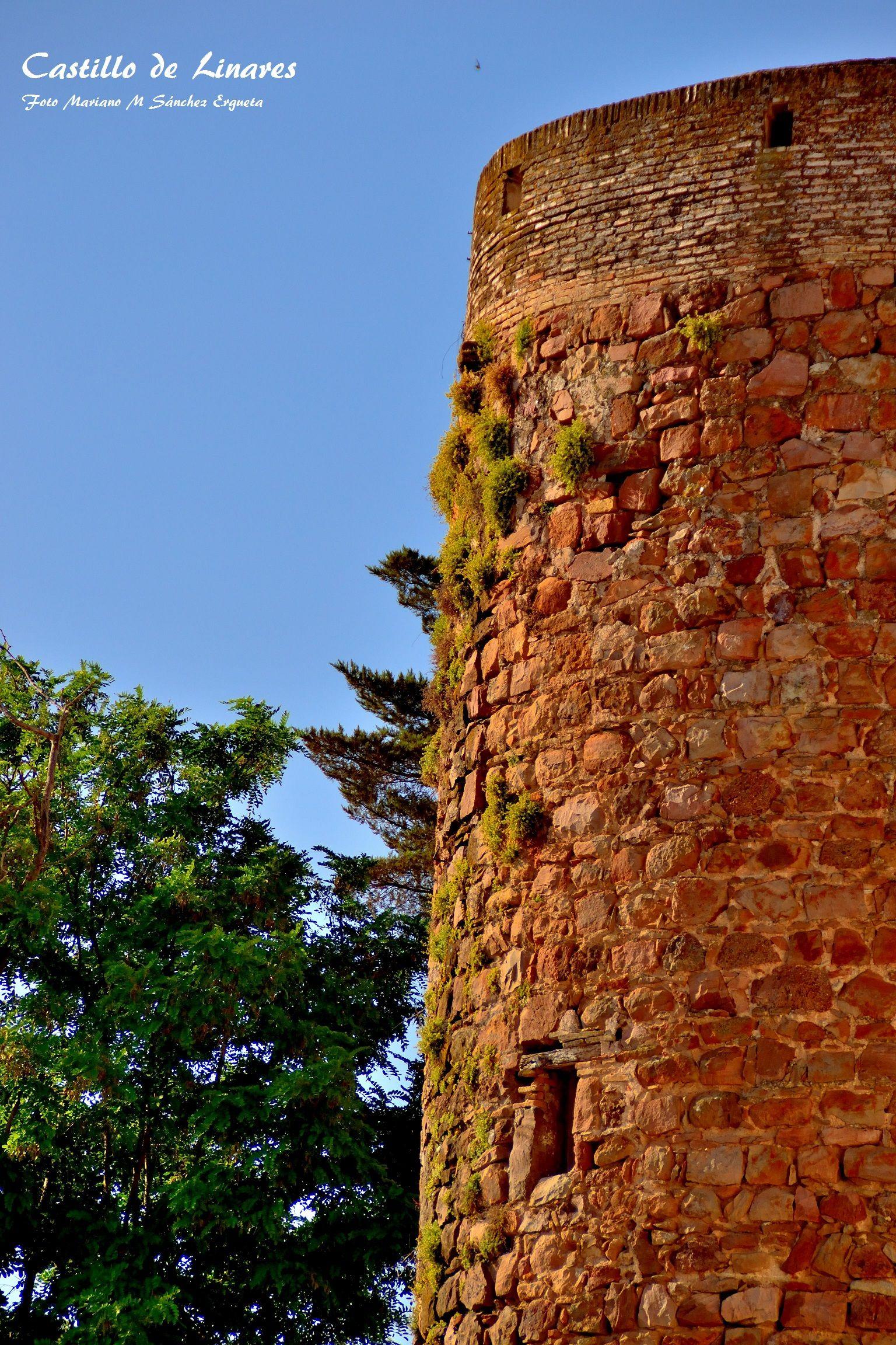Único torreón que se conserva del castillo de Linares ( Andalucía, España)