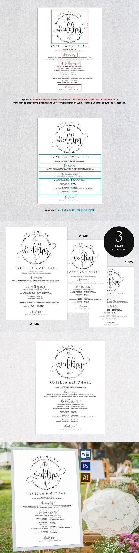 Gemütlich Christliche Hochzeitsprogramm Vorlage Fotos - Entry Level ...