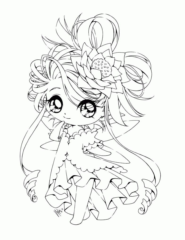 Chibi Princess Coloring Pages Through the thousands of