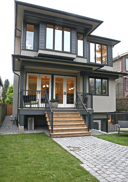 Pin By Jennifer L On Architecture Gray House Exterior Modern