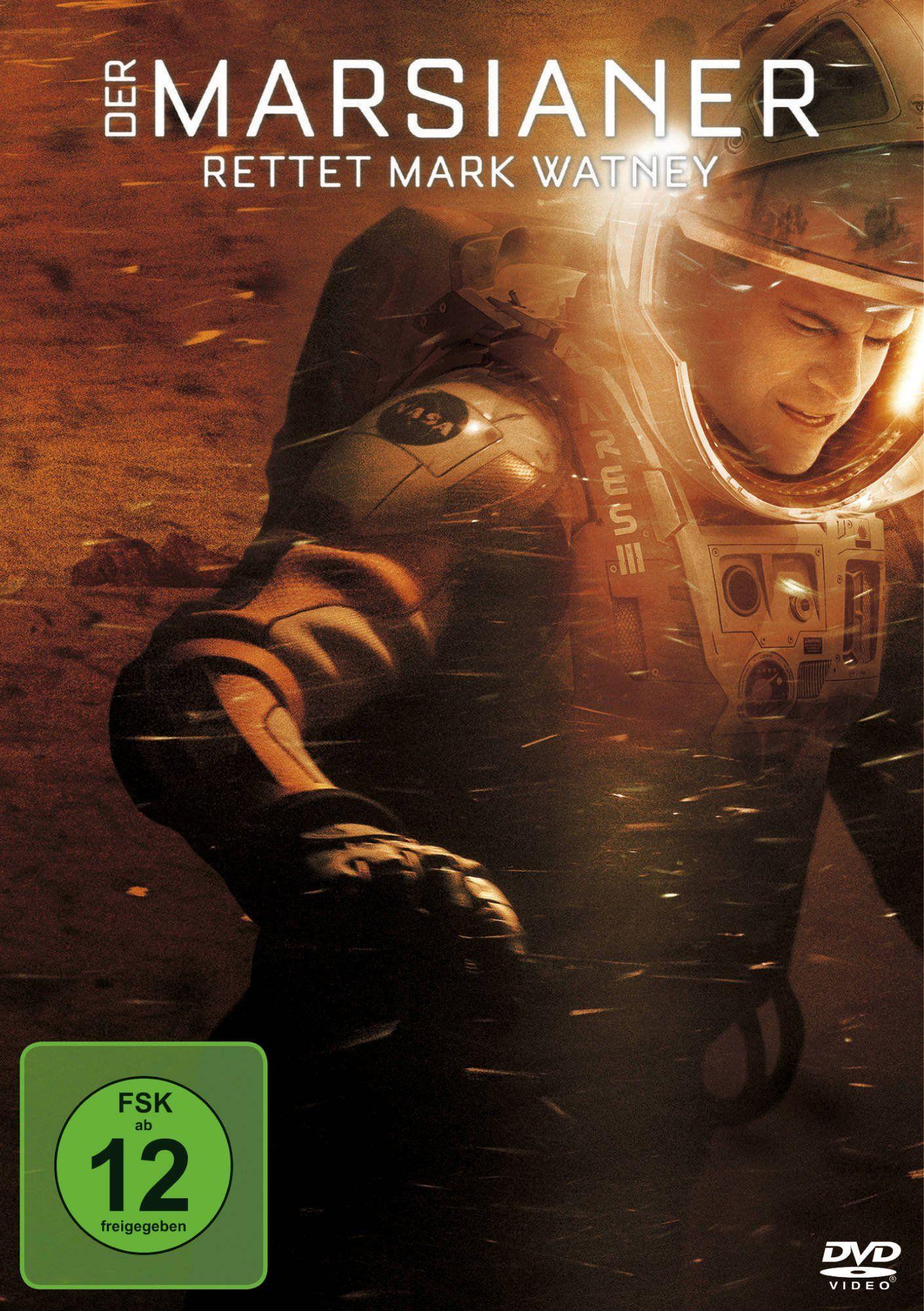 Der Marsianer Rettet Mark Watney Amazon De Matt Damon Dvd Blu Ray Der Marsianer Matt Damon Filme