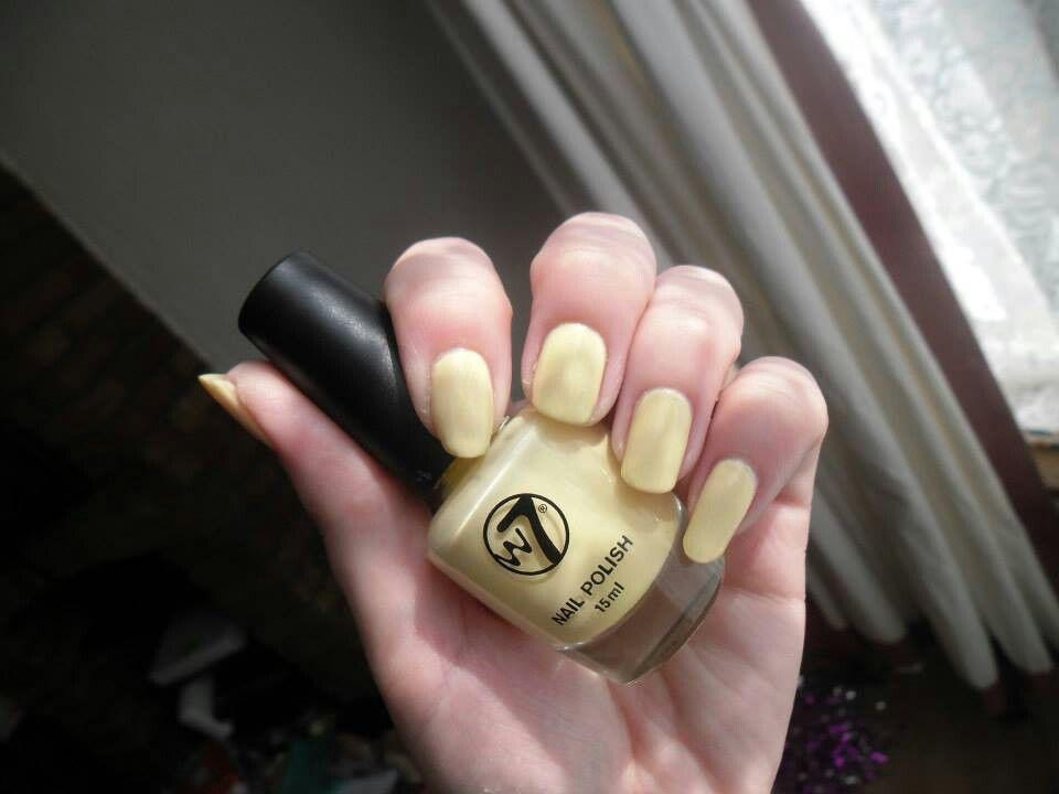 W7 - Sheer Lemon NailsByCC