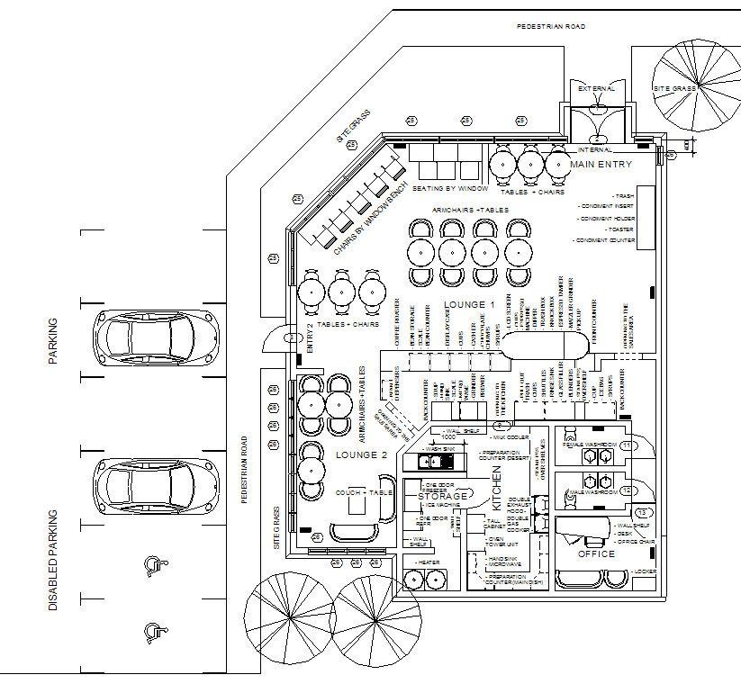 Coffee Shop Design Layout Floor Plan Coffee shop design