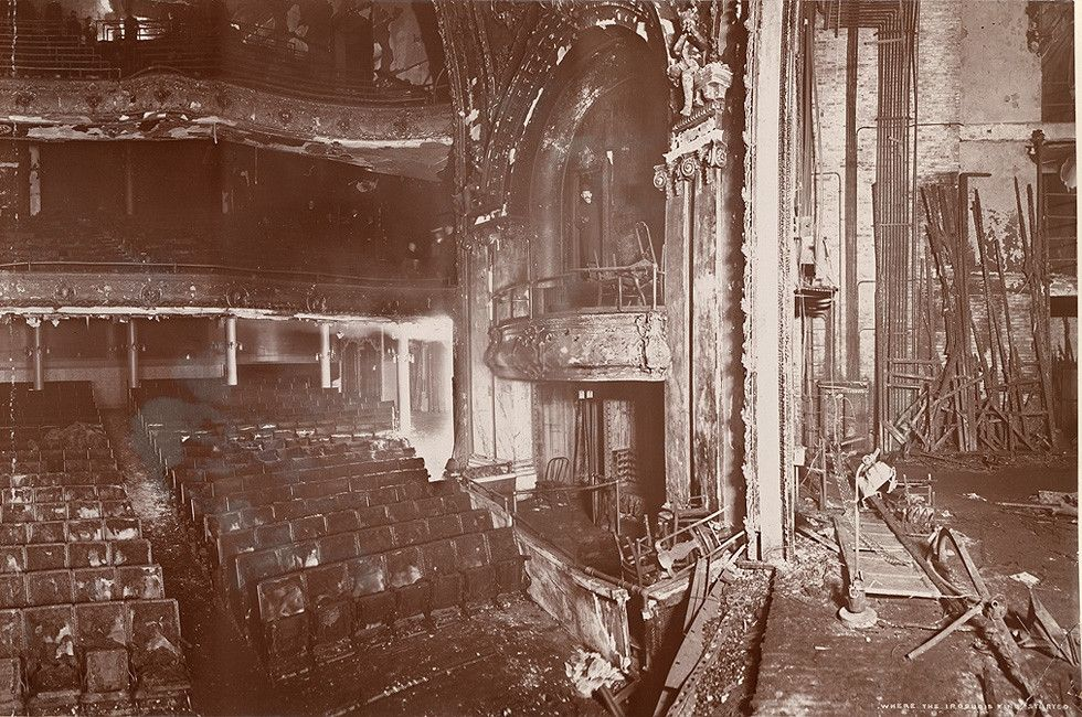 Iroquois Theater Fire In 1903 605 Died History Theater
