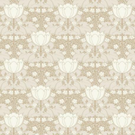 Papier peint intissé FOX TROT beige – Belle Epoque Casadeco