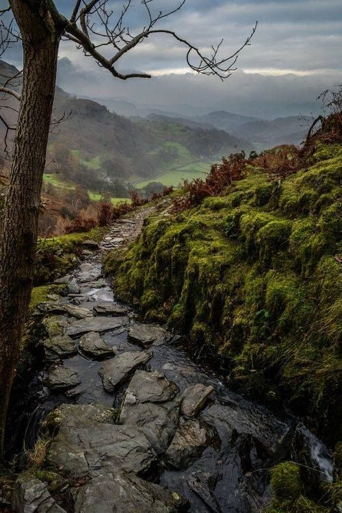 Coniston, Lake District, England