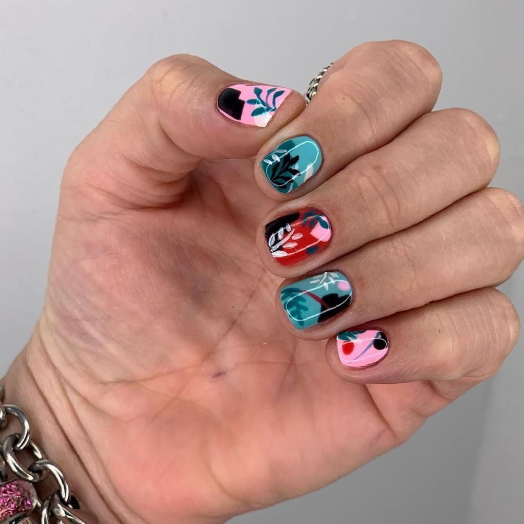 40 Stand Out Summer 2020 Nail Designs That Will Brighten Your Day Sooshell Fruit Nail Designs Matte Nails Design Nail Designs