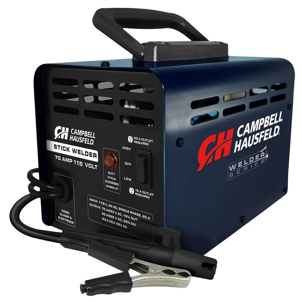 Campbell Hausfeld 115-Volt 70 Amp Stick Welder | Products