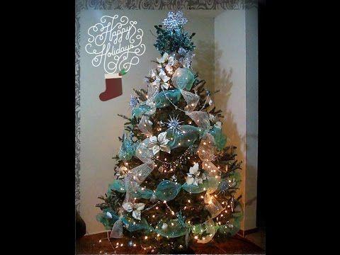 Como arreglar las cortinas de ba o para que se vean - Como se adorna un arbol de navidad ...