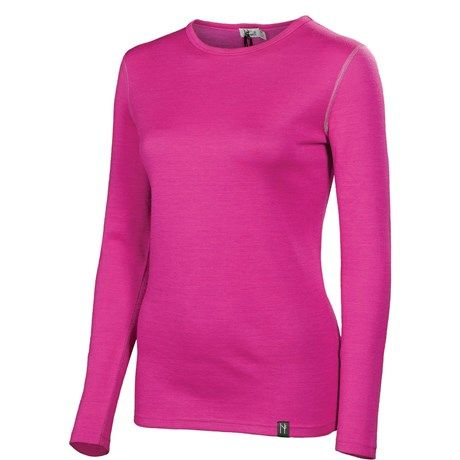 Neve Cirque Base Layer Top - Merino Wool, Crew Neck, Long Sleeve (For Women)