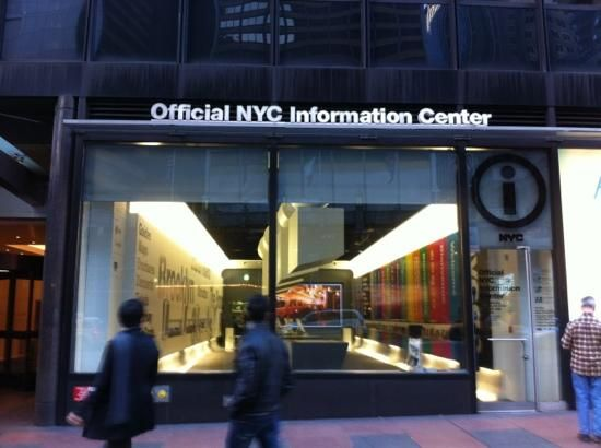 nyc visitor center