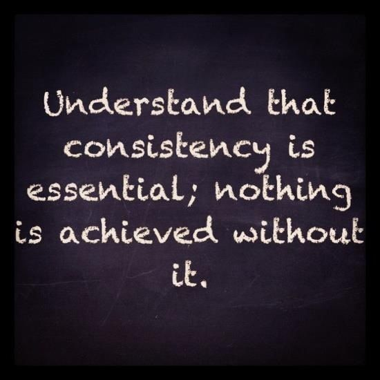 Are You Being Consistent With Your Workout You Have To Be