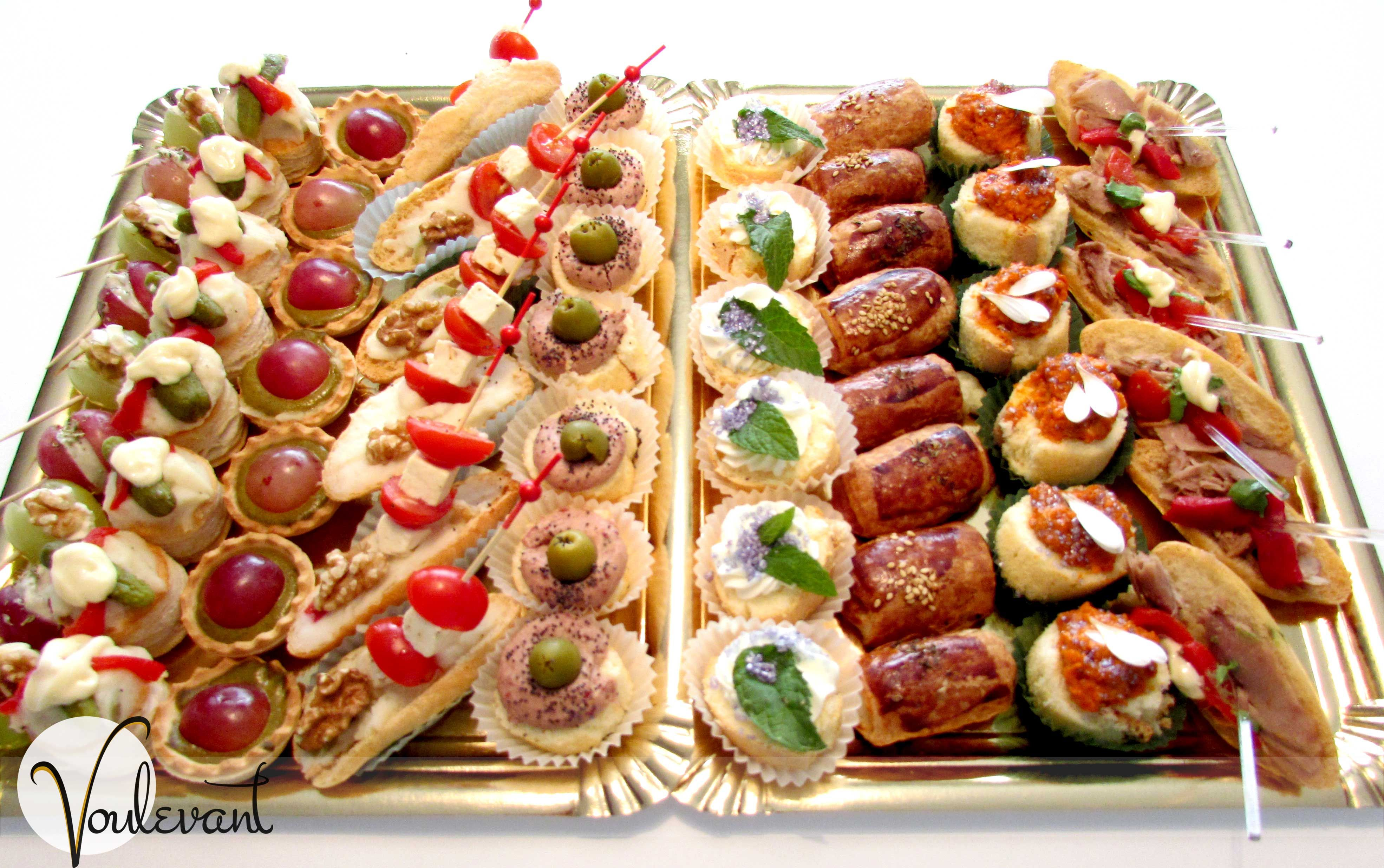 Bandeja de aperitivos tipo 7 salado pinterest for Recetas para canape