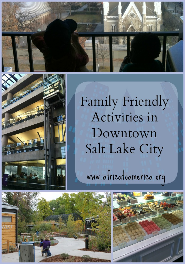 Kid-friendly activities to do in downtown Salt Lake City.