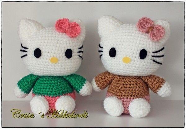 Hello Kitty Kitykatze Häkeln Anleitung Kostenlos Häkeln