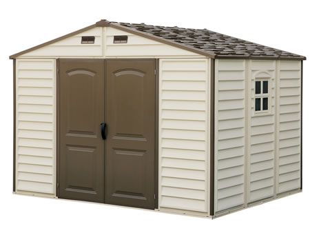 Pin By Jennie Hamilton On Duramax Vinyl Sheds Buildings And Garages Vinyl Storage Sheds Vinyl Sheds Storage Shed Kits