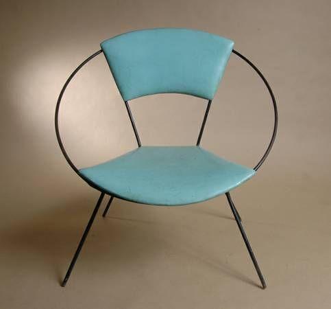 Vintage Saucer Hoop Chair