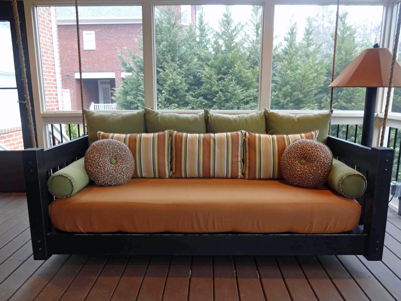 Porch bed porch beds pinterest porch bed porch and hanging