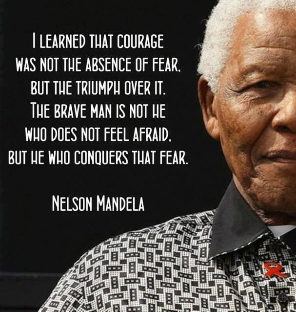 Gentil Posters, Prints And Wallpapers Nelson Mandela Courage Quote