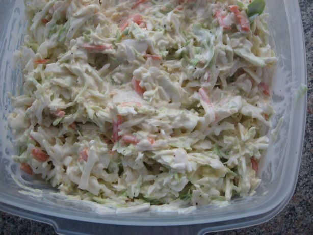 Coleslaw Cock Of The Walk Recipe Side Dishes Pinterest