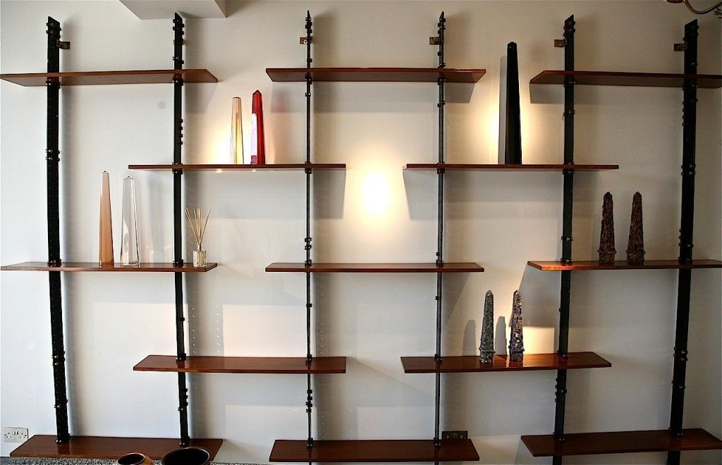 Creative Wall Mounted Bookshelf Ideas Amazing Big Wooden Wall