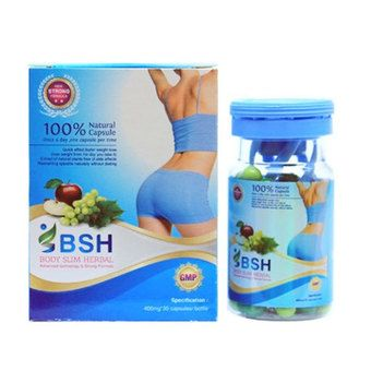 Belanja BSH Capsul - Body Slim Herbal Kapsul New Pack ...