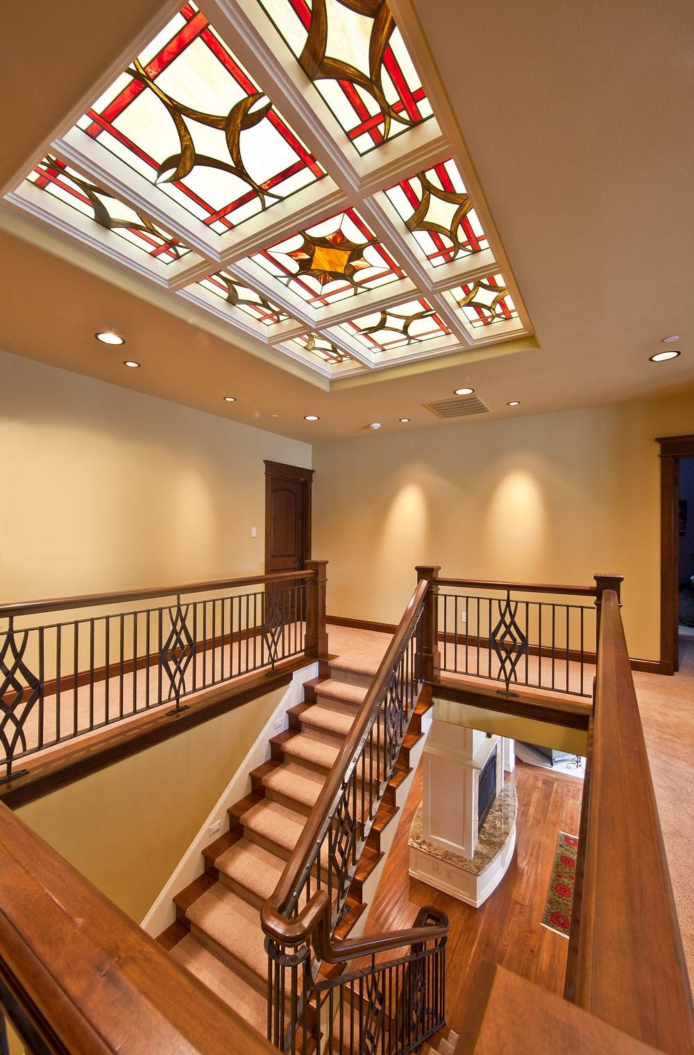 Best Steps Iron Railing Luv The Stained Glass Too 640 x 480