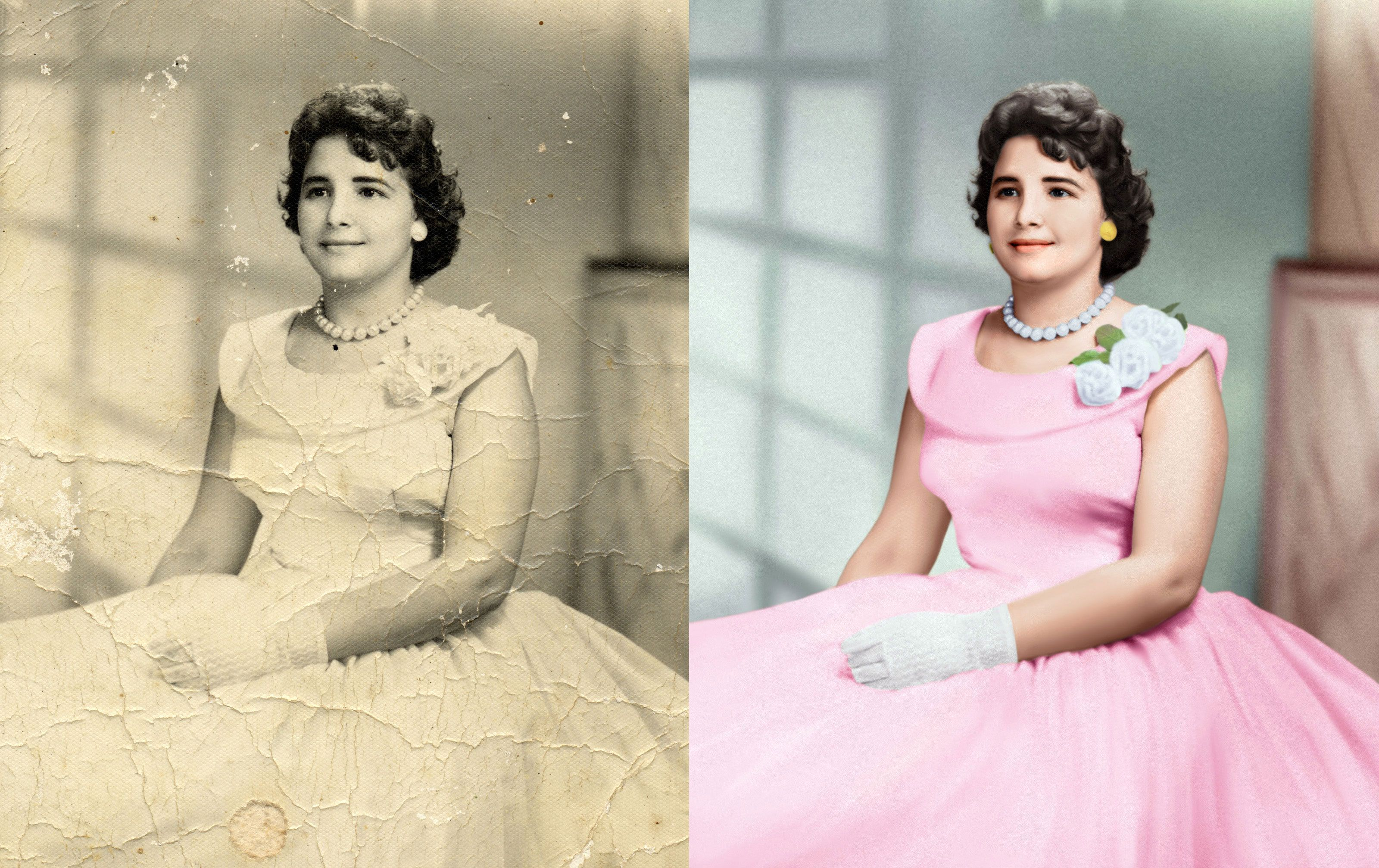 Outsource Graphic Designs leads the online photo restoration
