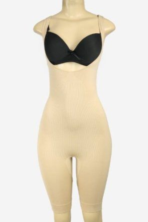 78cc339eb5ef3 Full Body Long Leg Shapewear Nude L XL by Magic Curves Donna Di Capri.   25.00